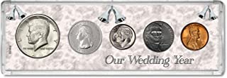 2012 Year Coin Set : 7th Anniversary Gift - Our Wedding Year