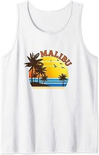 Malibu Rum CA California Beach T-Shirt Surf Travel Souvenir Tank Top