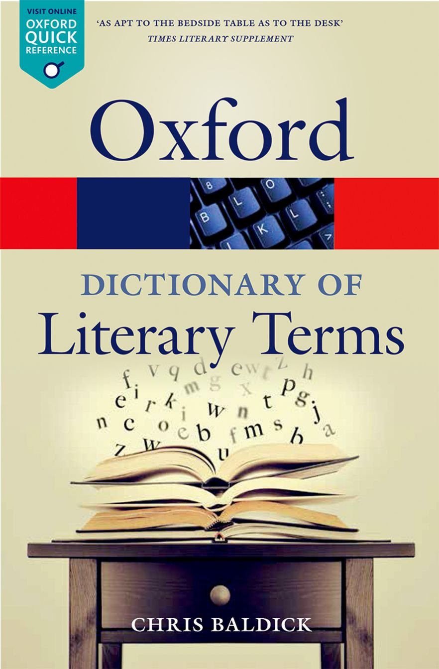 Image OfThe Oxford Dictionary Of Literary Terms