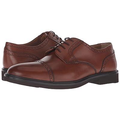 Florsheim Hamilton Cap Toe Oxford (Cognac Smooth) Men