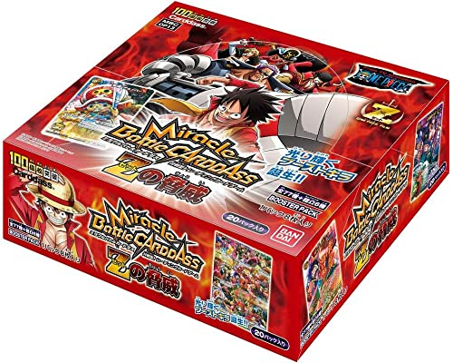 compra en línea hoy Miracle Miracle Miracle Battle Carddass - One Piece [Z no Kyoui] Booster Pack [OP13] (20packs) (japan import)  barato