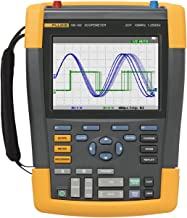 Fluke 190-102/AM/S 2 Channel LCD Color ScopeMeter Oscilloscope with SCC290 Kit, 100 MHz Bandwidth, 3.5ns Rise time