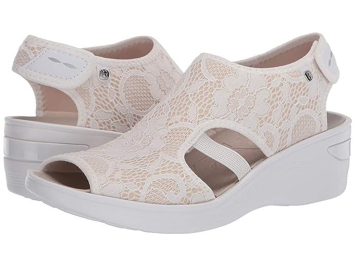 Bzees  Dream (White Lace) Womens Sandals