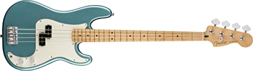 Fender Player Precision Electric Bass Guitar - Maple Fingerboard - Tidepool