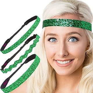 Irish Green Hairbands St Patricks Day Accessories Clover Headband Gift Packs