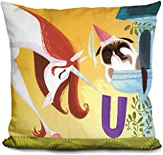 LiLiPi U Is For Unicorn Decorative Accent Throw Pillow