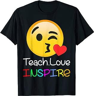 teacher emoji shirts