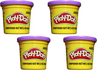 Play-Doh Purple (4 Pack) 3 Ounce Cans