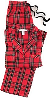 Victoria's Secret Women's Lightweight Cotton Flannel Pajamas