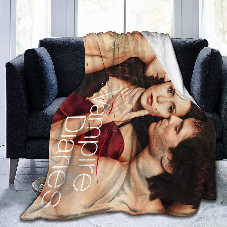 CNAOWHG The 安全 Vam-pire D-iaries Fleece Flannel 迅速な対応で商品をお届け致します Ultra-Soft Blanket