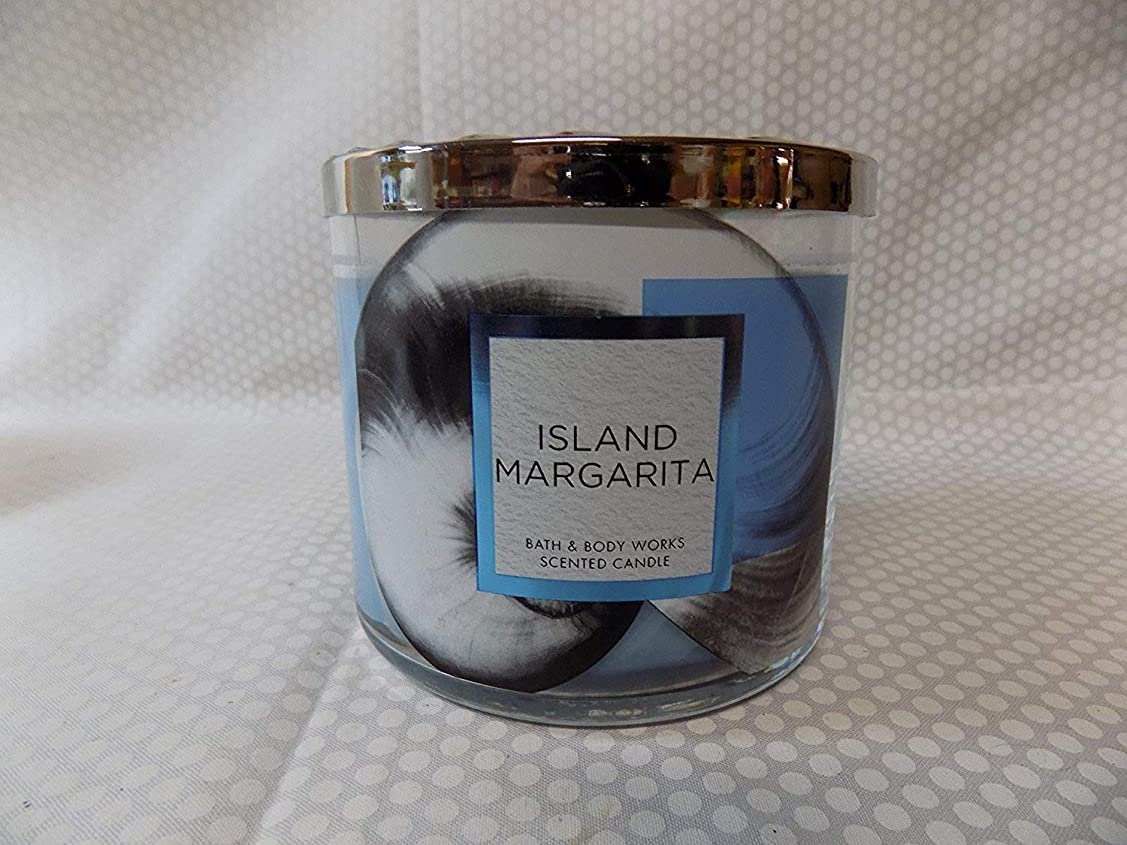 実験的追記呼ぶBath and Body Works Island Margarita香りつき3?Wick Candle