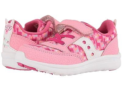 Saucony Kids Originals Jazz Lite (Toddler/Little Kid) (Pink Llama) Girls Shoes