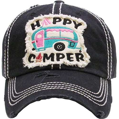 Funky Junque Womens Baseball Cap Distressed Vintage Unconstructed  Embroidered Dad Hat e310420c97db