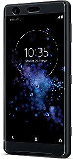 Sony stil skyddande fodral med beröringskänsligt främre skydd för Xperia XZ2, svart