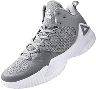 PEAK High Top Mens Basketball Shoes Lou Williams Streetball Master Breathable Non Slip Outdoor Sneakers Cushioning Workout...
