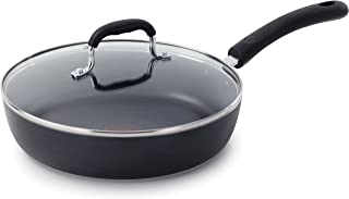 T-fal E93897 Professional Total Nonstick Thermo-Spot Heat Indicator Fry Pan with Glass..