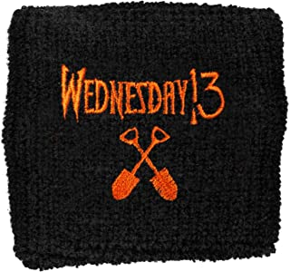 Wednesday 13 Men's Logo Athletic Wristband Black