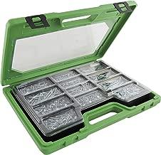 Set de 100 Piezas Ulti-Mate II S30035L1 Caja grande con tornillos de alto rendimiento para madera acabado BICROMATADO y punta PSD de 25mm incluida de 3,0 x 35 mm