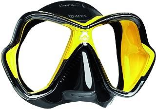Mares X-Vision Ultra Liquid Skin Dive Mask, Black/Yellow