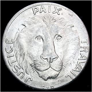 congo lion coin