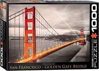 EuroGraphics San Francisco Golden Gate Bridge Puzzle (1000-Piece)