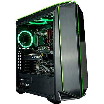 CUK Mantis Gamer PC (Liquid Cooled Intel Core i9 K-Series, 64GB RAM, 1TB NVMe SSD + 2TB HDD, NVIDIA GeForce RTX 3070 8GB, 750W PSU, AC WiFi, Windows 10 Home) Gaming Tower Desktop Computer