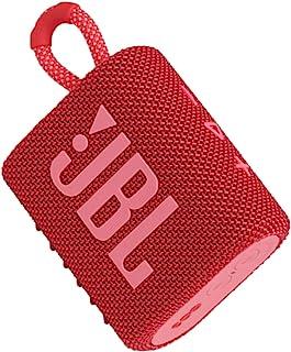 JBL GO 3 Portable Waterproof Bluetooth Speaker - Red