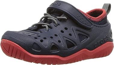 Crocs Swiftwater Play Shoe K Sandalias con Correa de Tobillo para Bebé-Niños