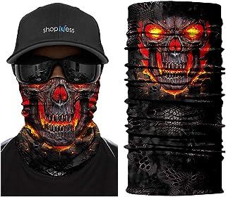 Multifunctional Headwear Bandana - Burning Skull