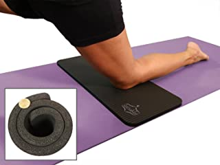 SukhaMat Yoga Knee Pad Cushion – America's Best Exercise Knee Pad - Eliminate Pain During Yoga or Exercise - Extra Padding & Support for Knees, Wrists, Elbows - Complements Your Yoga Mat
