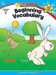 Beginning Vocabulary, Grade K: Gold Star Edition