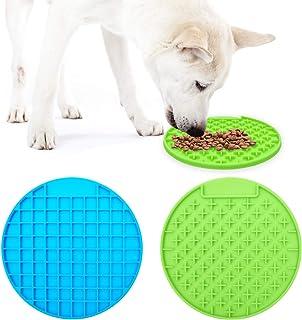 TANDD Dog Lick Mat, Dog Slow Feeder, Pet Calming Mat, Anxiety Relief Dog Cat Training Licking Mat, Perfect for Food, Yogur...