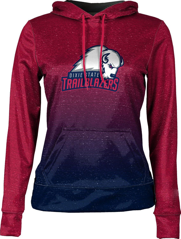 ProSphere Dixie State University Girls' Pullover Hoodie, School Spirit Sweatshirt (Ombre)
