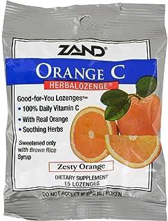 Herbal Lozenge-Orange Vitamin C Zand 15 Lozenge