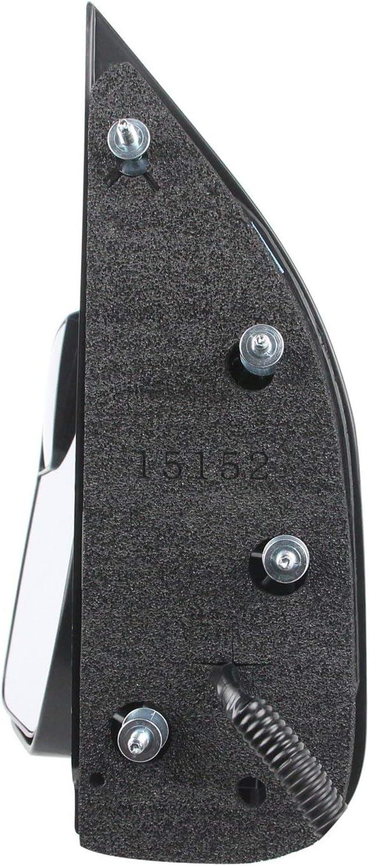 E-250 Power Folding E-350 Roane Concepts Replacement Left Driver Side Door Mirror E-450 Super Duty Black for 2010-2014 Ford Econoline Van E-150 Non-Heated FO1320396