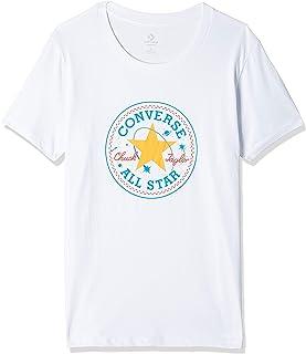 Converse Galaxy Chuck Path Crew T-Shirt for Women, Size XL,White