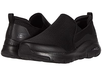 SKECHERS Arch Fit Banlin (Black/Black) Men