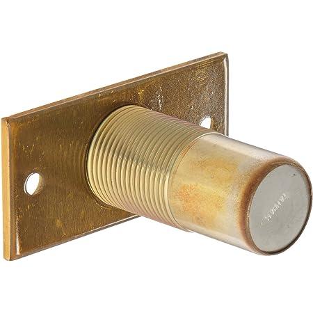 2 Length 3 Width Rockwood 085857 570.10B Dust Proof Bottom Strike Dark Bronze Dark Satin Bronze Finish
