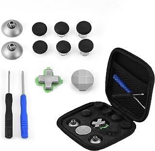 Sutinna Joystick Mini Thumbstick Cap Kit de Botón de Repuesto Magnético para PS4/Xbox One Change, Accesorios para la Conso...