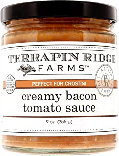 Terrapin Ridge Farms - Creamy Tomato Bacon Sauce, 9 oz. - Low Sugar, Low Carb