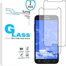 KATIN Galaxy J3 Luna Pro Screen Protector - [2-Pack] for Samsung Galaxy J3 Luna Pro Tempered Glass 9H Hardness Premium with Lifetime Replacement Warranty