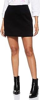 Calvin Klein Women's J20J208503-Black Calvin Klein Straight Mini Skirt for Women - Black