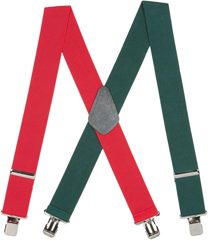 Suspender Store Mens RedGreen Suspenders