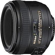 Nikon AF-S FX NIKKOR 50 mm f/1.4G Obiettivo con messa a fuoco automatica per fotocamere Nikon DSLR (rinnovato)