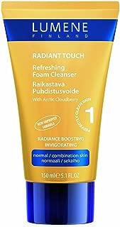 Lumene Radiant Touch Refreshing Foam Cleanser, 5.1 Fluid Ounce