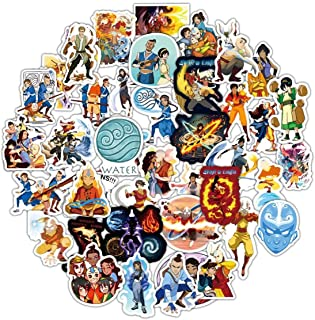 ZUIYIJIANGNAN Avatar The Last Airbender Stickers,Anime Stickers,Laptops Stickers for Water Bottle Stickers Waterproof Vinyl Decal Sticker for Phone,Compute,Cars,Bicycles, (Avatar The Last Airbender)