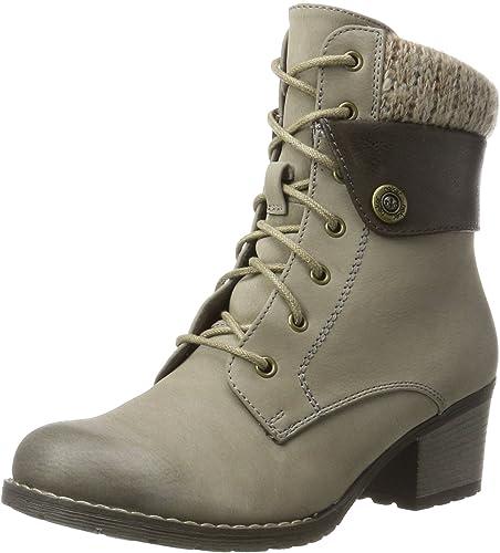 Rieker 92529, botas para mujer