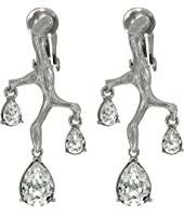 Oscar de la Renta - Runway Branch Crystal Earrings