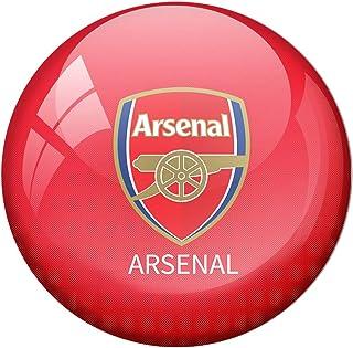 AVI Fridge Magnet with Red Colour Arsenal Football Club Premier League Metal Regular Size 58mm MR8000166