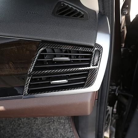 Diyucar 4 X Karbonfaser Abs Innenverkleidung Für X5 X6 F15 F16 2014 2018 Zubehör Auto